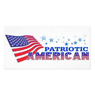 Patriotic American Picture Card