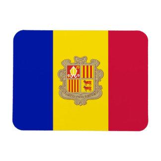 Patriotic Andorra Flag Magnet