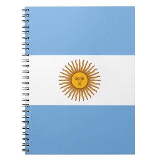 Patriotic Argentinian Flag Notebook