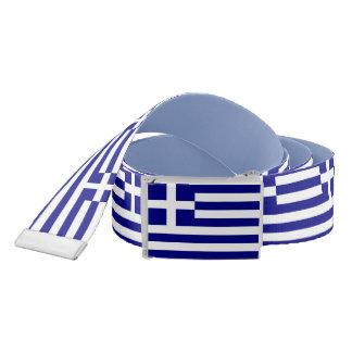 Patriotic Belt with flag of Greece