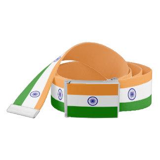 Patriotic Belt with flag of India