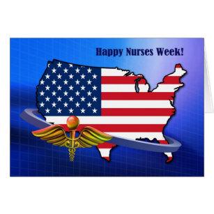 Corporate greetings greeting cards zazzle patriotic design nurses week greeting cards m4hsunfo
