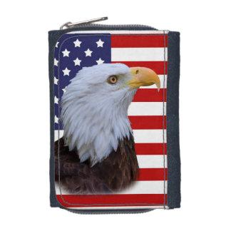 Patriotic  Eagle and USA Flag Wallets