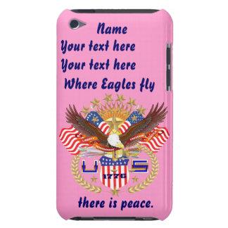 Patriotic Eagle Please View Artist Comments iPod Case-Mate Case