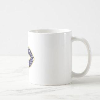 Patriotic Fish Basic White Mug