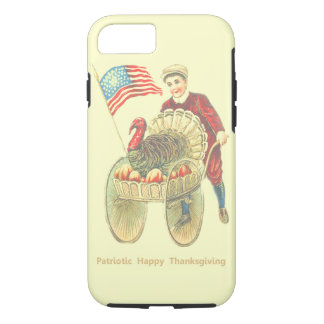 Patriotic Happy Thanksgiving Tough iPhone 7 Case