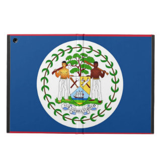 Patriotic ipad case with Flag of Belize