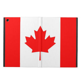 Patriotic ipad case with Flag of Canada