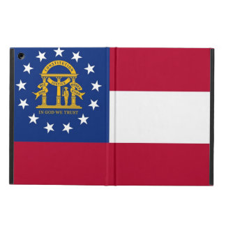 Patriotic ipad case with Flag of Georgia