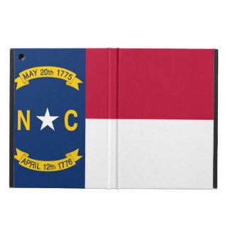 Patriotic ipad case with Flag of North Carolina