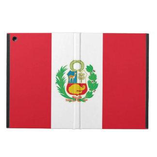Patriotic ipad case with Flag of Peru