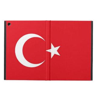 Patriotic ipad case with Flag of Turkey