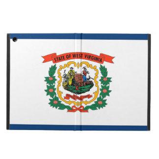 Patriotic ipad case with Flag of West Virginia