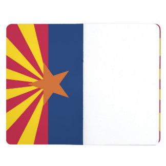 Patriotic journal with Flag of Arizona