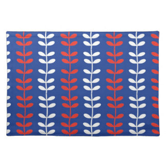 Patriotic Leaves and Branches Placemat