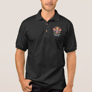 Patriotic Men Dark All style Front Back Polo Shirt