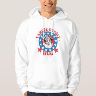 Patriotic Miniature American Shepherd Hoodie