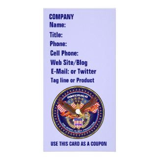 Patriotic or Veteran View Artist Comments Photo Card