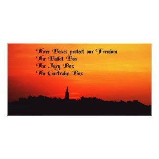 Patriotic Photo Card