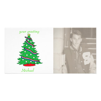 Patriotic Pine Photo Cards