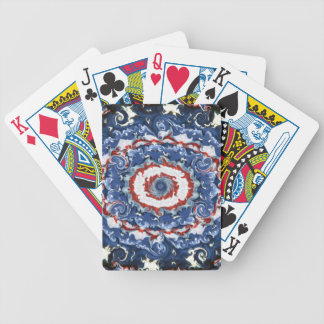 Patriotic Plasticity Bicycle Playing Cards