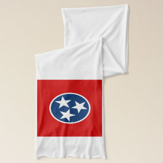 Patriotic Scarf with Flag of Tennessee State