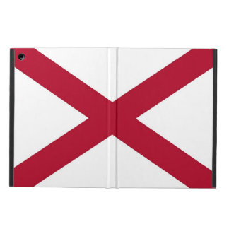 Patriotic, special ipad case with Flag of Alabama