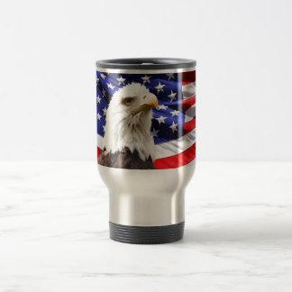 Patriotic Stainless Steel Travel Mug