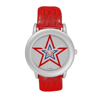 Patriotic Star Award Watches! By Grassrootsdesigns Wristwatch