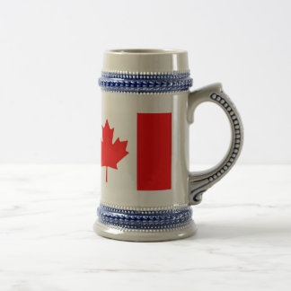 Patriotic the Canadian flag Coffee Mugs