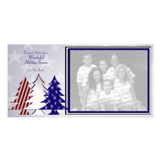 Patriotic Trees Photo Cards