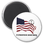 PATRIOTISM REQUIRED MAGNETS