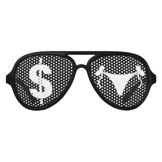 Pattaya Streeet Cruiser - Sunglasses, Money & Hoes Aviator Sunglasses