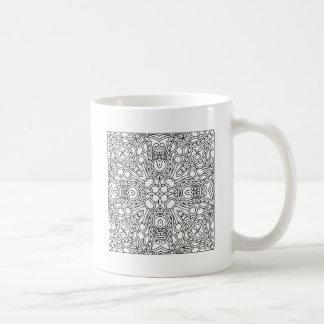 Pattern Mandala Coffee Mug