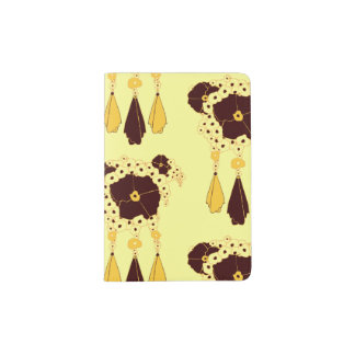 Pattern NO.3: Abstract Floral Print Passport Cover