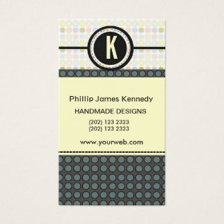 Pattern Play Edgy Monogram Appointment