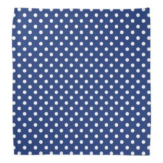 Pattern with white polka dots 2 bandana