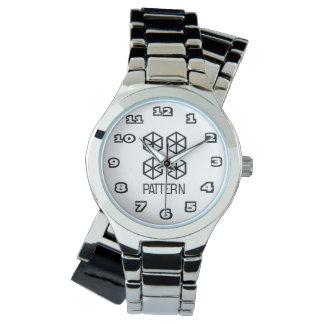 Pattern Women's Silver Wrap-Around Watch