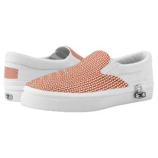Patterns beads slip on shoes