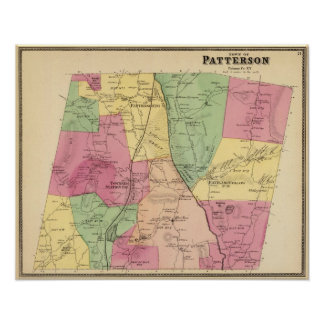Patterson, Town Poster