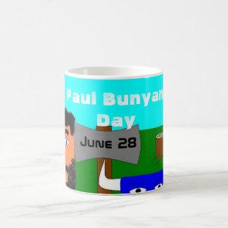 Paul Bunyan Day Basic White Mug