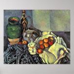 Paul Cezanne - Still Life with Apples Print
