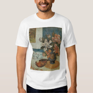 Paul Gauguin, Chinese Peonies and Mandolin T-shirts