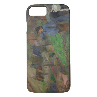 Paul Gauguin - Landscape of Brittany iPhone 7 Case