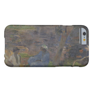 Paul Gauguin - On the Shore of the Lake Barely There iPhone 6 Case