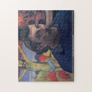 Paul Gauguin - Self Portrait With Yellow Christ pu Puzzle