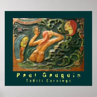 Paul Gauguin: Tahiti Carvings Posters