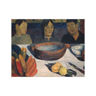 Paul Gauguin - The Meal Stretched Canvas Prints
