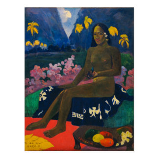 "Paul Gauguin ""The Seed of the Areoi"" Post Card"