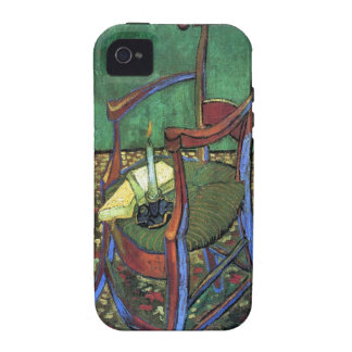 Paul Gauguin's Armchair by Vincent van Gogh 1888 Vibe iPhone 4 Cases